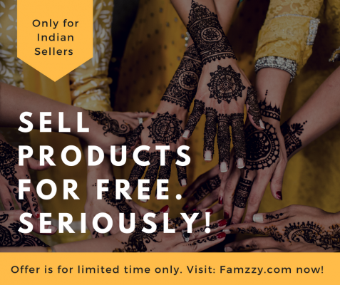 Sell Products Online for FREE in India