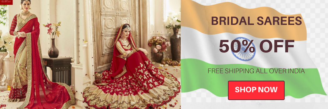 Best Bridal Saree Independence day offer
