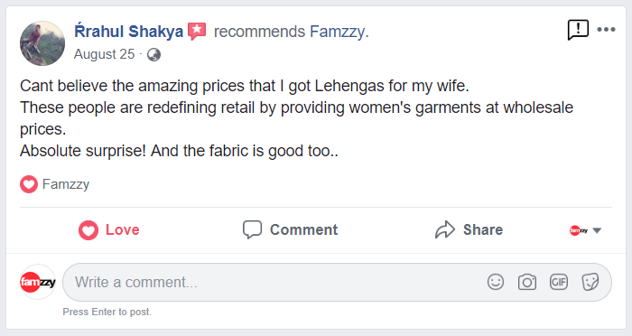 Rrahuk Shkya Recommends Famzzy.com